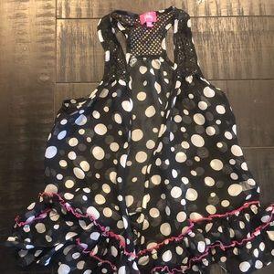 Girls boutique vest size 10/12